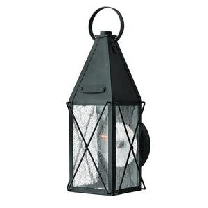 York - One Light Small Outdoor Wall Mount