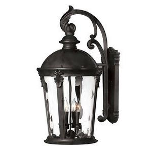 Windsor - Four Light Large Outdoor Wall Mount