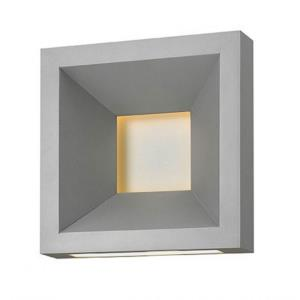 """Plaza - 10"""" 24W 1 LED Outdoor Small Wall Mount"""