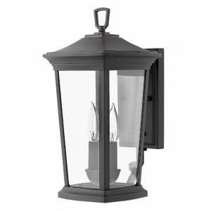 Bromley - Two Light Outdoor Small Wall Mount