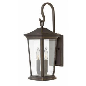 """Bromley - 19.75"""" Two Light Outdoor Small Wall Mount"""