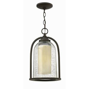 """Quincy - 15.5"""" 15W 1 LED Outdoor Hanging Lantern"""