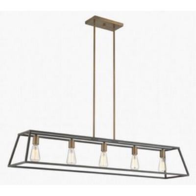 Hinkley Lighting 3335BZ Fulton - Five Light Linear Chandelier