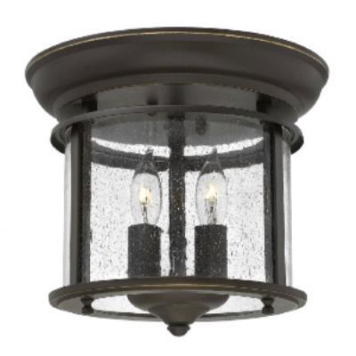 Hinkley Lighting 3472OB Gentry - Two Light Flush Mount