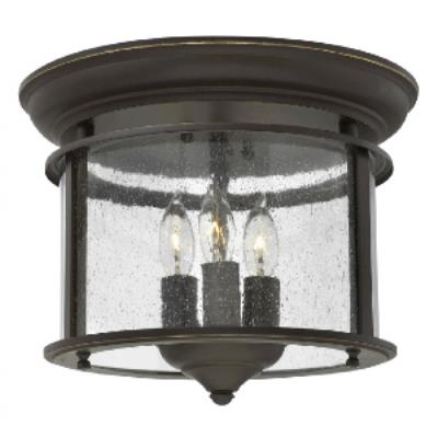 Hinkley Lighting 3473OB Gentry - Three Light Flush Mount