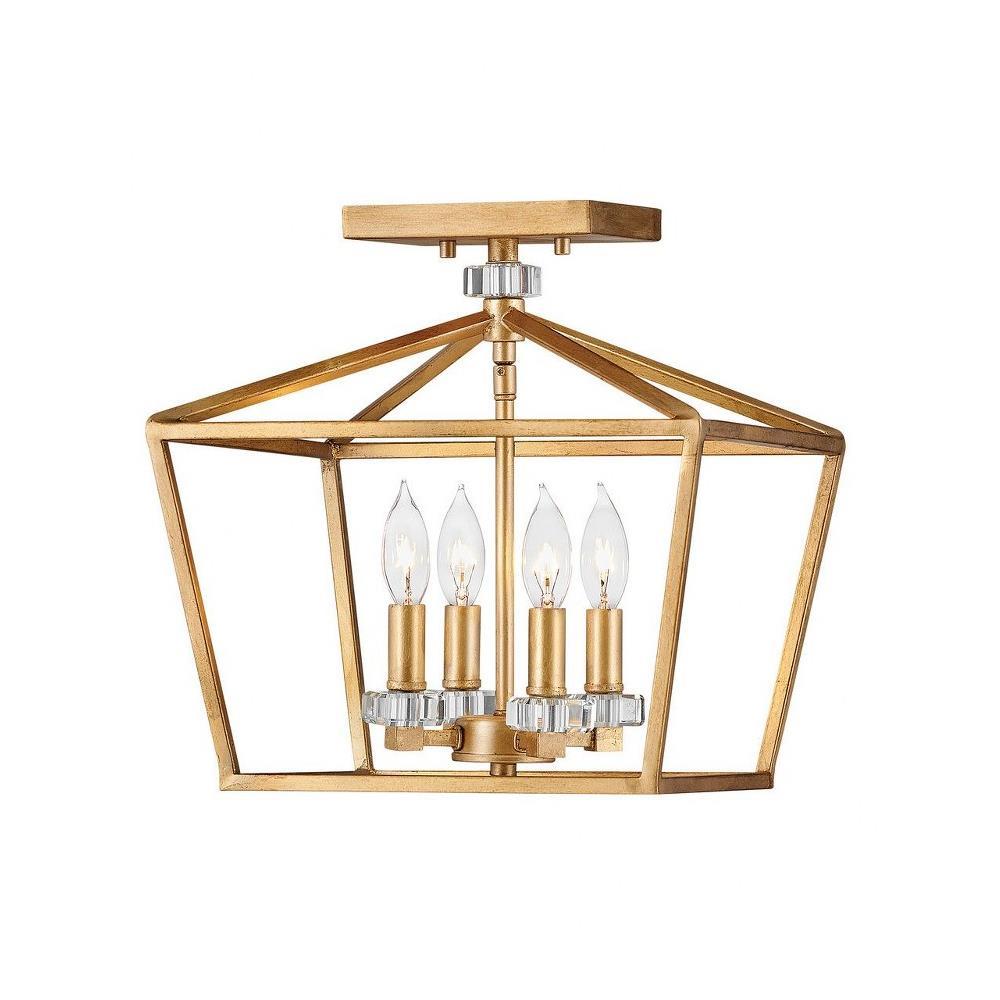 new product 511c0 489ea Stinson - Four Light Flush Mount