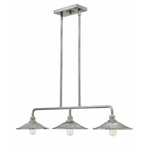Rigby - Three Light Stem Hung Linear Chandelier