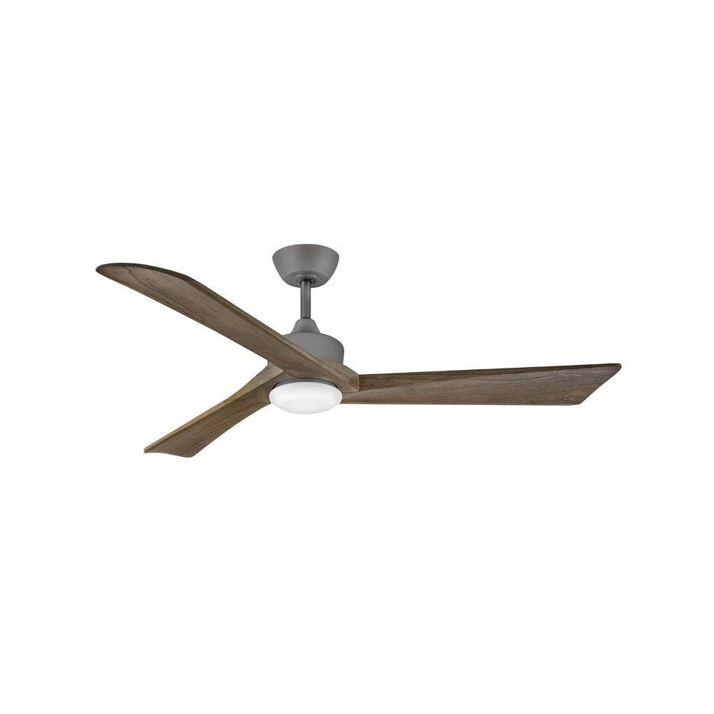Hinkley Lighting 903660f Sculpt 60 Inch 3 Blade Ceiling Fan With Light Kit