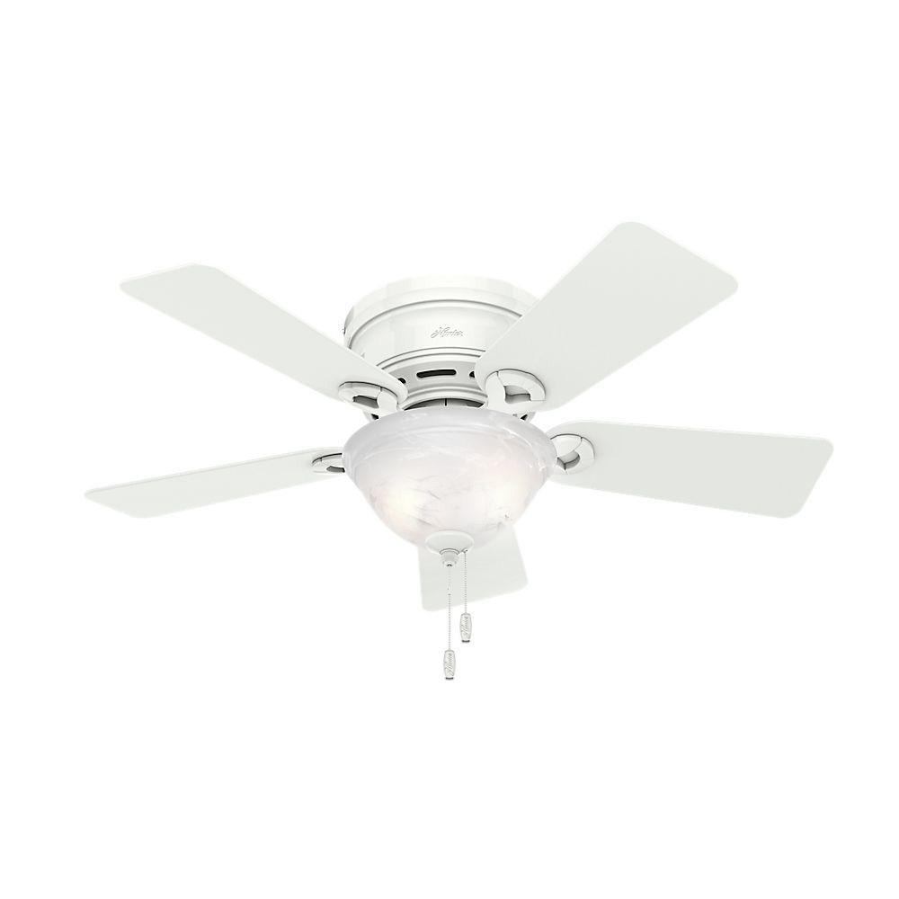 Hunter Fans-51022-Conroy - 42 Inch Ceiling Fan  White Finish