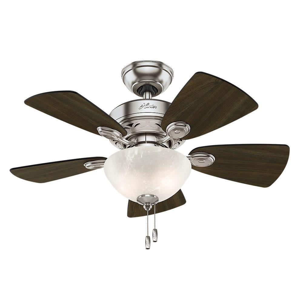 Hunter Fans 52092 Watson Ceiling Fan With Light Kit 34 Inches Wide By 12 76 Inches High