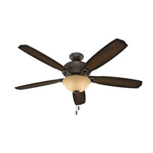 "Ambrose - 60"" Ceiling Fan with Light Kit"