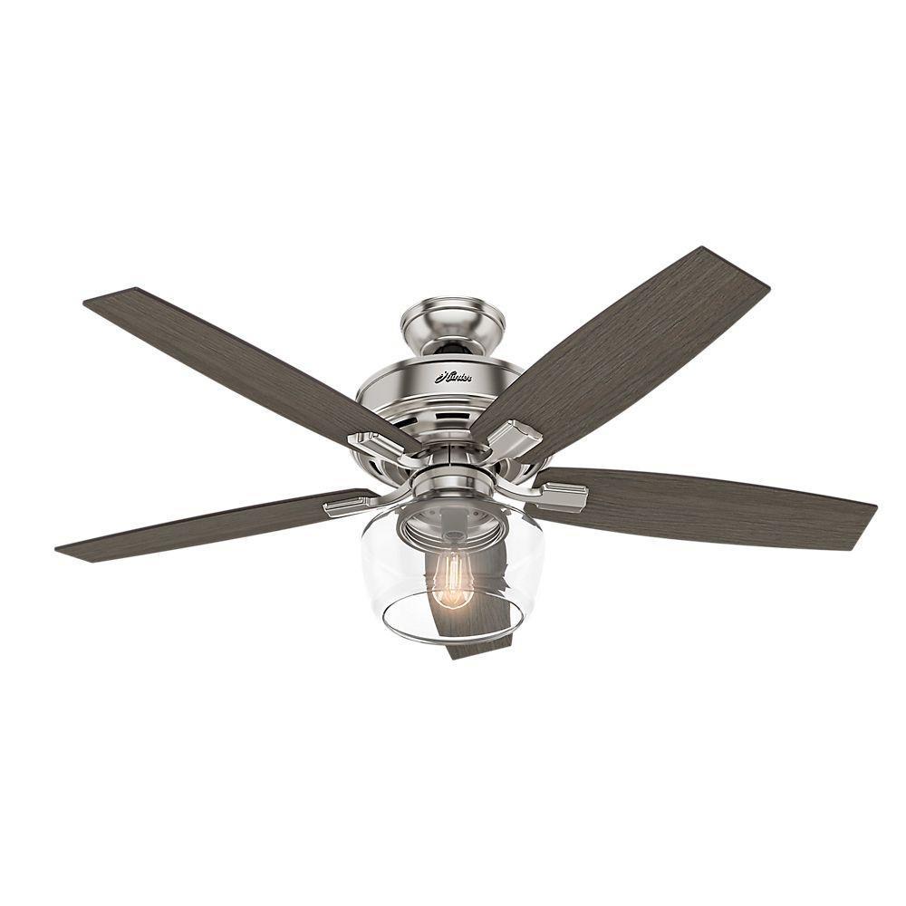 Ceiling Fan With Globe Light Kit