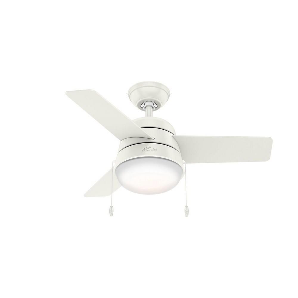 Hunter Fans 59301 Aker 36 Inch Ceiling Fan With Light Kit