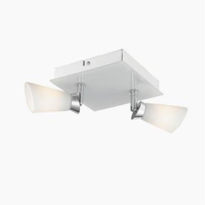 Iberlamp C024-F2-CH Opera - Two Light Flush Mount