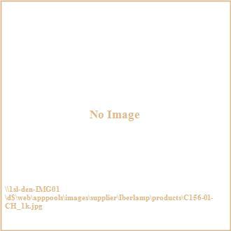 Iberlamp C156-01-CH Clara - One Light Wall Sconce