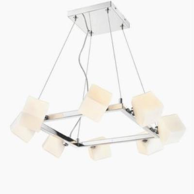 Iberlamp C165-08-CH Volga - Eight Light Pendant