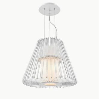 Iberlamp C182-S-WH Delhi - Seven Light Pendant