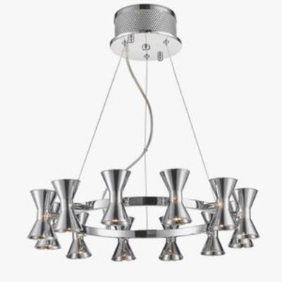 Iberlamp C308-12-CH-CH Kim - Twelve Light Pendant