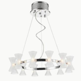 Iberlamp C308-12-CH-FR Kim - Twelve Light Pendant
