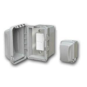 Accessory - Single Duplex Switch Surface Mount & Gang Box 20 Amp Per Pole