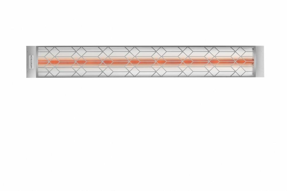 Infratech-C2024SS2-Single Element - 2000 Watt Elecrtic Patio Heater - Motif Collection Stainless Steel Craftsman240 Volt