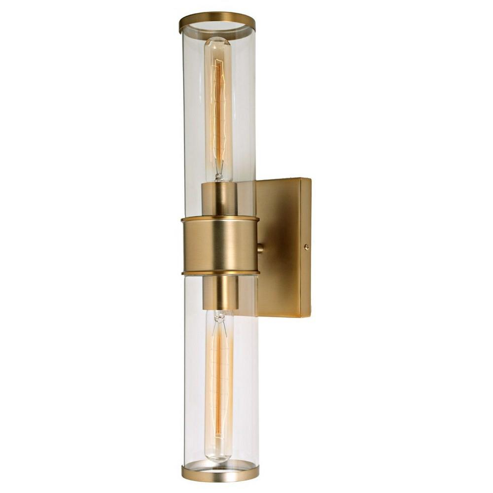 JVI Designs Gramercy Two Light Wall Sconce - Two light bathroom sconce