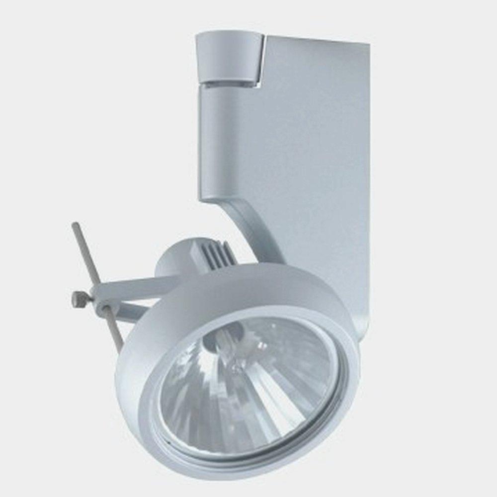 Jesco Lighting HLV270MR1675-S Contempo 270 Series Low Voltage Track Light Fixture Silver Finish MR16