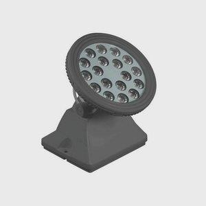 "6.75"" 20W 18 LED Round Wall Washer"