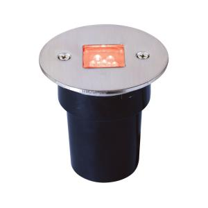 """2.63"""" 0.36W 6 LED In-Ground Recessed Accent Light"""