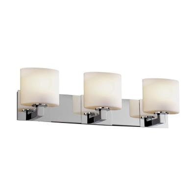 "Justice Design FSN-8923 Fusion - 27"" Three Light Bath Bar"