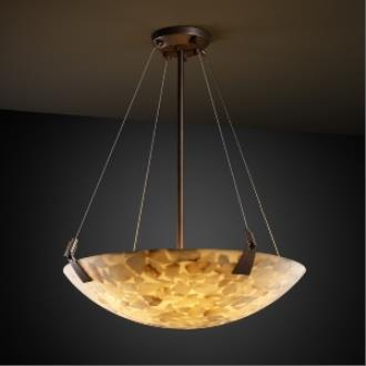 "Justice Design ALR-9642 24"" Bowl Pendant with Tapered Clips"