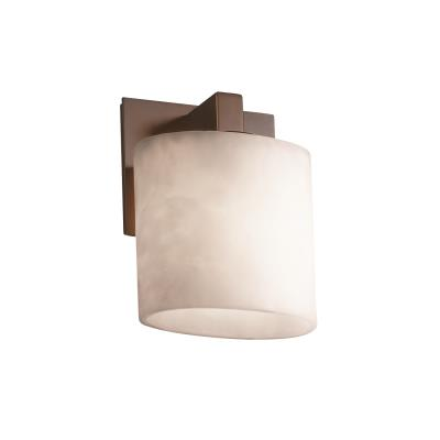 "Justice Design CLD-8931 Clouds - 7.25"" One Light Wall Sconce"