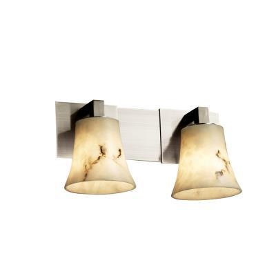 "Justice Design FAL-8922 LumenAria - 15"" Two Light Bath Bar"