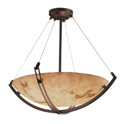 "Justice Design FAL-9729 60"" Pendant Bowl"
