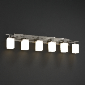 Justice Design FSN-8706 Aero 6-Light Bath Bar