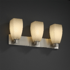 Justice Design FSN-8923 Modular 3-Light Bath Bar