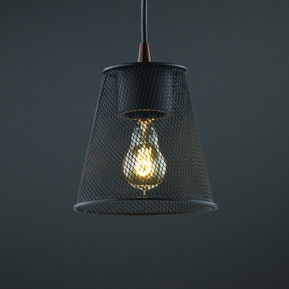 Justice Design - MSH-8815 - Wire Mesh - One Light Pendant