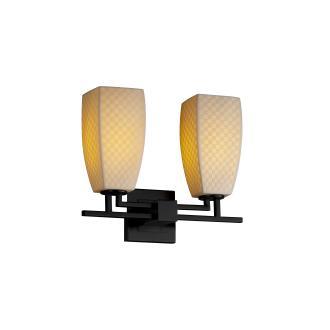 Justice Design POR-8702 Limoges - Two Light Bath Bar