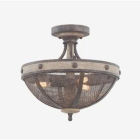 Kalco Lighting 7047 Coronado - Three Light Semi-Flush Mount