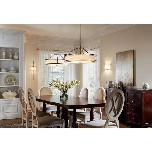 Dining Room Lighting Emory Collection Emory 3 Light: Three Light Convertible