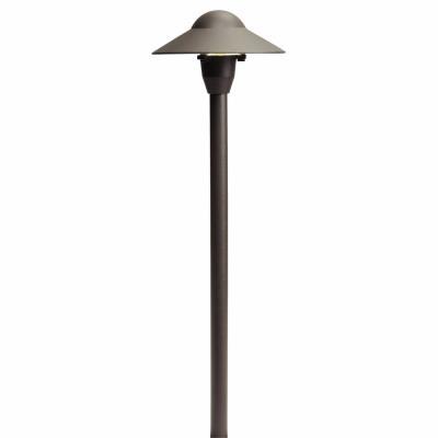 "Kichler Lighting 15470AZT Low Voltage 6"" Dome Path Light"