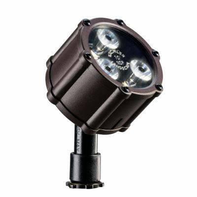 Kichler Lighting 15733AZT Low Voltage 60 Degree Wide Accent Landscape Light