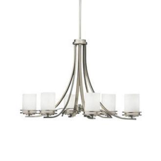 Kichler Lighting 1673NI Hendrik - Six Light Chandelier