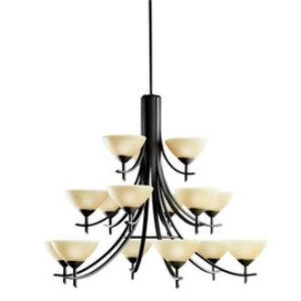 Kichler Lighting 1681OZ Olympia - Fifteen Light Chandelier