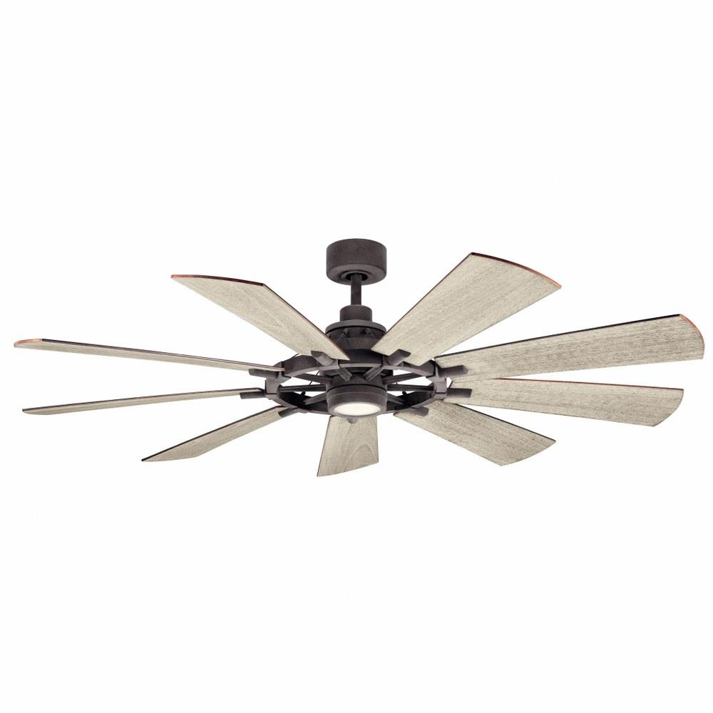 Kichler Lighting 300265 Gentry 65 Inch Ceiling Fan With Light Kit