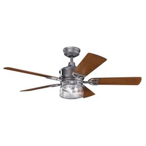 "Lyndon Patio - 52"" Ceiling Fan With Light Kit"