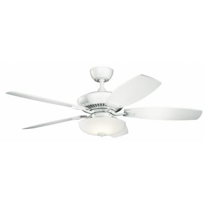 Kichler lighting 330013 canfield pro 52 ceiling fan with light kit