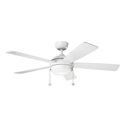 kichler lighting starkk 52u0026quot ceiling fan with - Kichler Fans