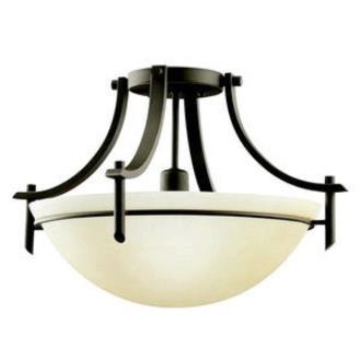 Kichler Lighting 3678OZ Olympia - One Light Semi-Flush Mount