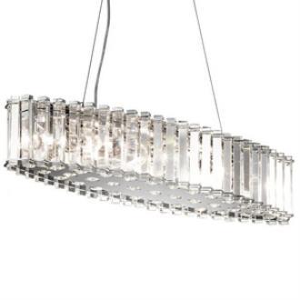 Kichler Lighting 42172CH Crystal Skye - Eight Light Oval Chandelier